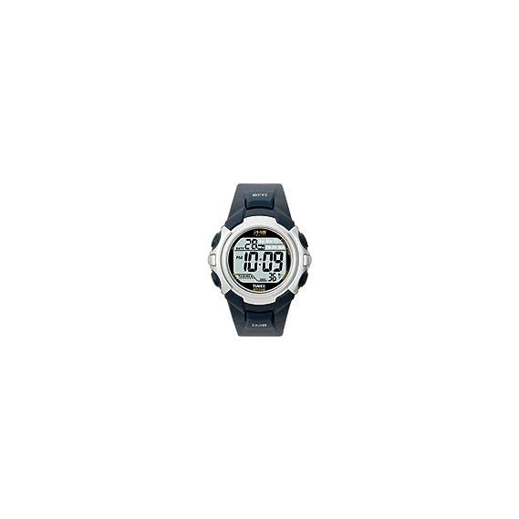 Timex T5J571 4E - Reloj digital de cuarzo para hombre con correa de resina, color negro: Timex: Amazon.es: Relojes