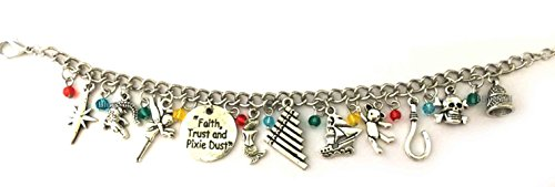 Pan Peter Charm Bracelet - Bracelets Costume Jewelry Merchandise Gifts for Women Silver]()