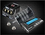 (US) HobbyWing M6B Combo, Xerun-150A-Sd ESC, 4274Sd (2200Kv) Sensorless Motor, Multifunction Program Box, Black