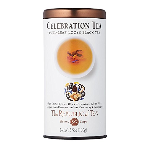 Celebration Cup - The Republic Of Tea Celebration Tea, 3.5 Ounces / 50-60Cups