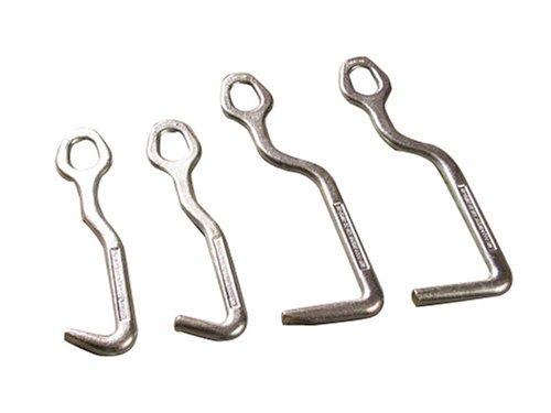 Moclamp 3200 4 Piece Fixed Head Sheet Metal Hook Set