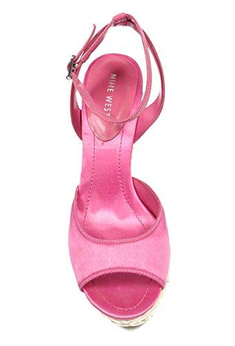 NINE WEST - Damen Knöchelriemen Sandale NWCASTING MDPNK MPNK Hacke: 11 cm