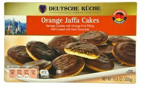 Amazon Com Deutsche Kuche Orange Jaffa Cakes 10 6 Oz