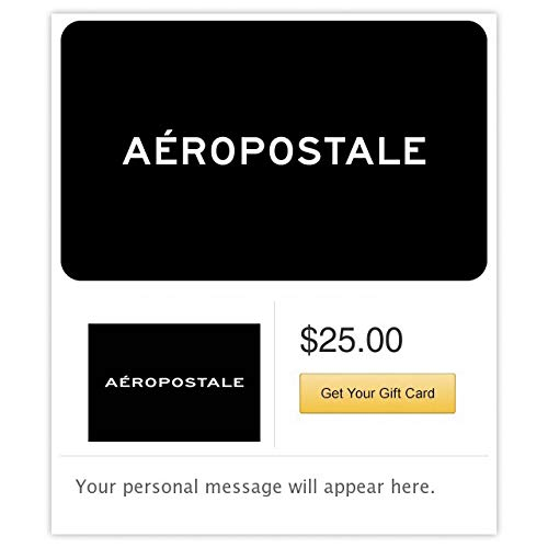 Aeropostale Gift Cards - E-mail Delivery