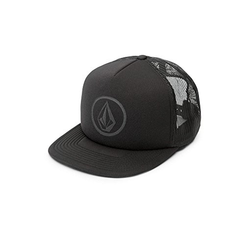 - Volcom Men's Full Frontal Cheese 5 Panel Trucker Hat, Stealth, One Size Fits All