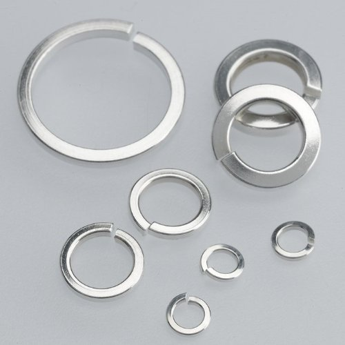 Sterling Silver 8mm Round Square-Wire Jump Ring