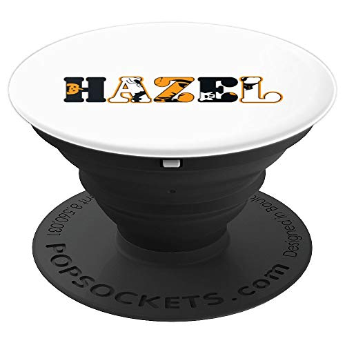 (Hazel Spooky Name Halloween PopSockets Grip and Stand for Phones and)