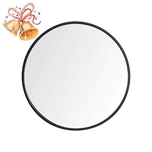 Beauty4U Large Round Metal Frame Mirror, 19.7