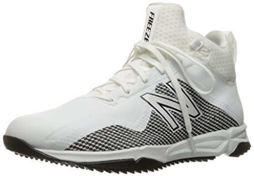 New Balance Mens Freeze v1 Lacrosse Shoe White/Black
