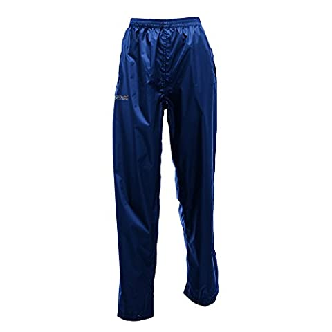 Regatta Great Outdoors Womens/Ladies Adventure Tech Pack It Waterproof Pants (M) (Midnight) (Womens Adventure Pants)