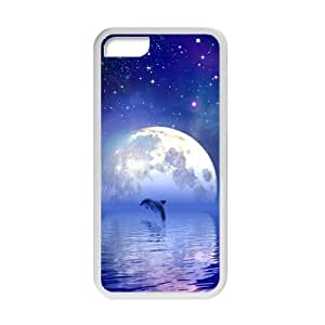 Welcome!For Iphone 4/4S Case Cover s-Brand New Cute Fashion Dolphin Printed High Quality Hard For Iphone 4/4S Case Cover -04