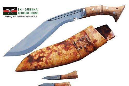 Genuine Gurkha Full Tang Blade Khukri Knife – 12 Blade World War I Historic Kukri – Handmade By Ex Gurkha Khukuri House in Nepal