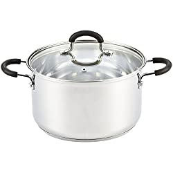 Stainless Steel 5-Quart Stockpot