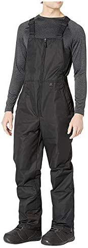A2A Ski Pants for Men Women Waterproof Insulated Essential Bib Overalls Insulated Water Resistant Ski Snow Bib