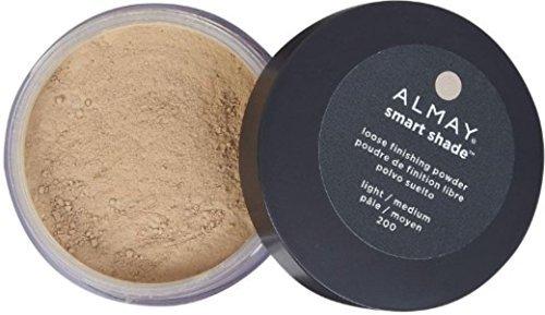 Almay Loose Powder - Almay Smart Shade Loose Finishing Powder, Light Medium [200] 1 oz (Pack of 2)