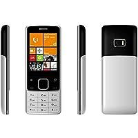 Darago F18 Dual SIM Mobile Phone - 2G, 1.7 Inch,Silver