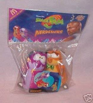 Warner Bros Space Jam Nerdlucks by McDonalds Mcdonalds