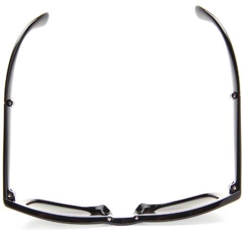 ray ban folding wayfarer polarized sunglasses  amazon: ray ban folding wayfarer black frame crystal green polarized lenses 50mm polarized: ray ban: clothing