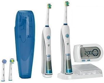 Braun Oral B Triumph 5000 Elektrische Premium Zahnbürste mit SmartGuide und zweiter Zahnbürste (limitierte Edition)