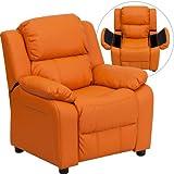 Zuffa Home Furniture Orange kids recliner