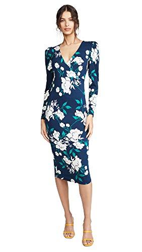 (Yumi Kim Women's Notting Hill Dress, Lucky Charm Navy, Blue, Floral, Large)