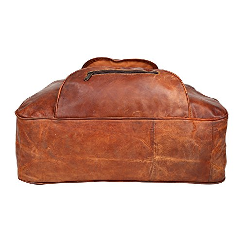 "Desert Town ""Traveler"" Vintage Look braun Leder Unisex Party Büro Cross-Body-Top Griff Baguette Schultergurt Tasche Geschenkidee"