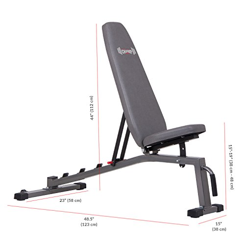 Olympic Weight Bench With Squat Rack: Two Piece Set Olympic Weight Bench With Squat Rack BCB3835