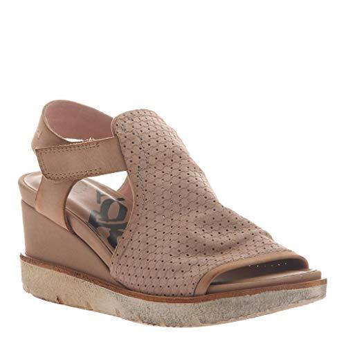 OTBT Women's Mercury Flat Sandals - Salmon - 10