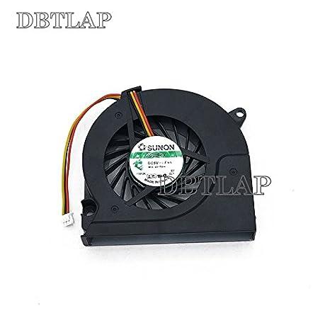 DBTLAP Ventilador de la CPU del Ordenador Portátil para HP Compaq 6710B 6710S 6720S UDQFRPH52C1N 6033B0005701 6515B 6510B 6520S 6720 6735S 3 Pin Ventilador: ...