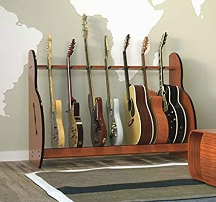 Amazoncom The Session Standard Multiple 7 Guitar Stand Musical