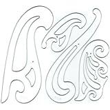 Westcott French Plastic Curve Set (FC-4)