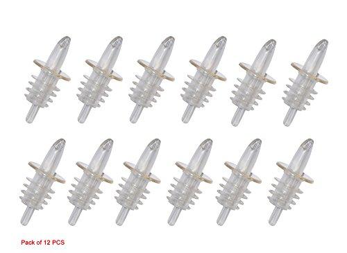 AntKits 12 Pack Free Flow Pourers Transparent