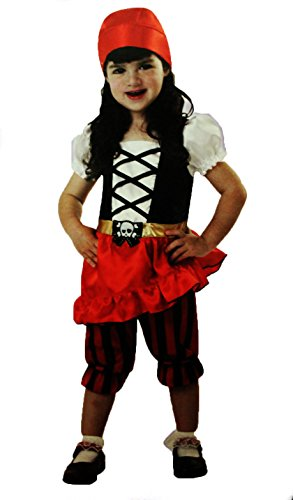 Totally Ghoul Perfect Pirate Halloween Costume NWT 4-6 Years Toddler]()