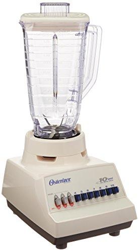 Oster 4173 10 Speed Kitchen Blender Plastic Jar, 220-240 Volts