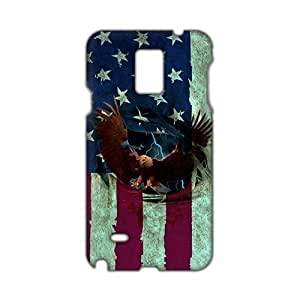 Angl 3D Case Cover America Flag Eagle Phone Case for Samsung Galaxy Note4
