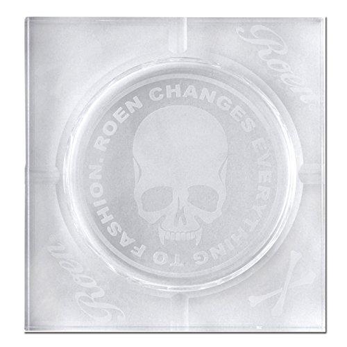 Roen ロエン クリスタル 灰皿 ガラス 四角 おしゃれ ブランド SQUARE CA001-S B00N2SCQF4