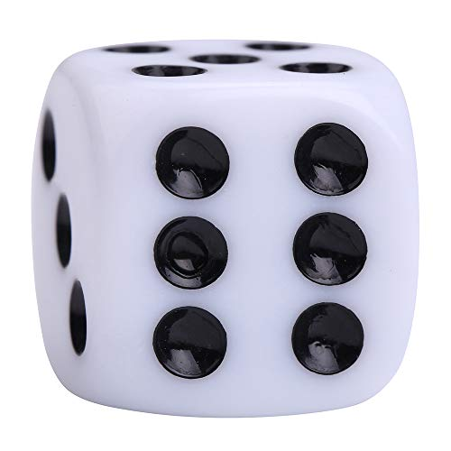 Aveks 100 White Dice - 16Mm (Basic)