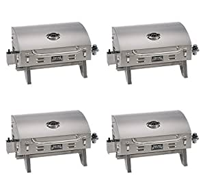 Smoke Hollow 205 Stainless Steel TableTop Propane Gas ...
