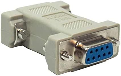 SF Cable 10 ft DB9 F//F Null Modem Cable RS232