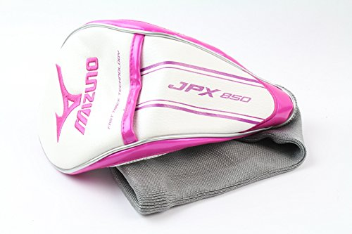 - Mizuno JPX 850 Ladies Driver Headcover Pink/White/Grey