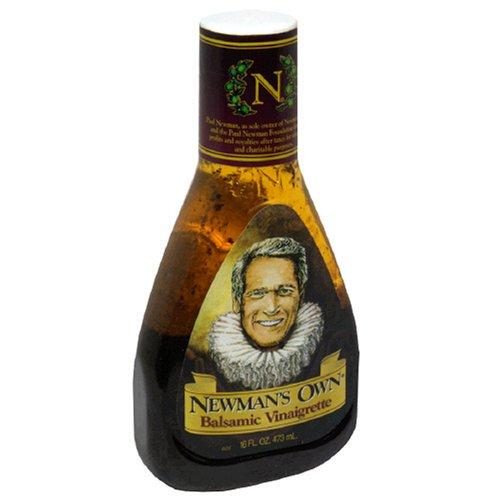 Newman's Own Salad Dressing, Balsamic Vinaigrette, 16-Ounce Bottles (Pack of 6)