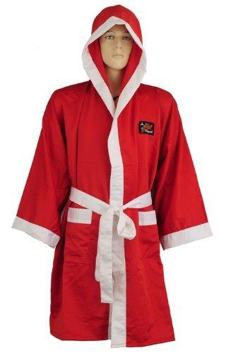 Playwell - Bata de boxeo (seda), color rojo