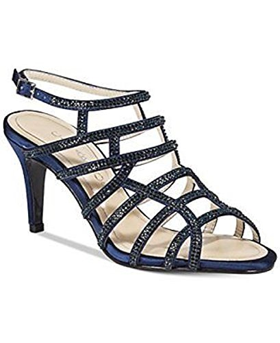 Special Occasion Womens Sandals Navy Strappy Open Toe Harmonica Caparros XwqZq