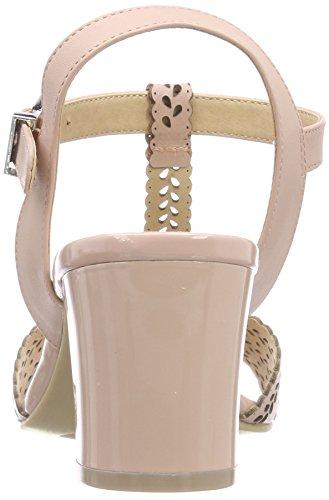Nappa Sandali Caviglia con Cinturino Donna 28301 Rose Caprice 511 alla Rosa xqTCB5z