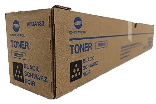 Konica Minolta TN324K Black Toner Cartridge for bizhub C258, C308, C368