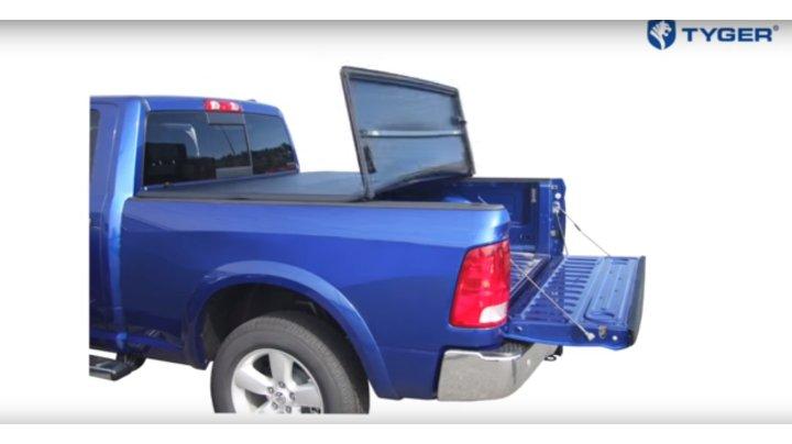 Tyger Auto Tg Bc3c1006 Tri Fold Truck Bed Tonneau Cover