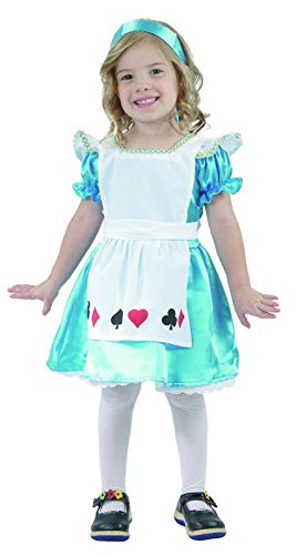 Henbrandt Toddlers Alice In Wonderland Fancy Costume Fairytale 2 - 4 Years (Party City Alice In Wonderland Costume)
