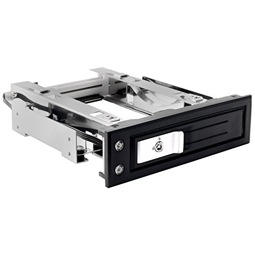 """Kingwin Performance Single Bay Hot Swap Mobile Rack For 3.5"""" SSD/HDD, Internal Tray-Less SATA Hard Drive Backplane Enclosure, Support SATA I/II/III & SAS I/II 6Gbps and [Optimized for 3.5"""" SSD/HDD] by Kingwin"""