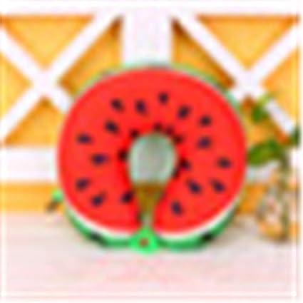 Amazon.com: Almohadas de viaje - 1 x 6 colores de frutas en ...