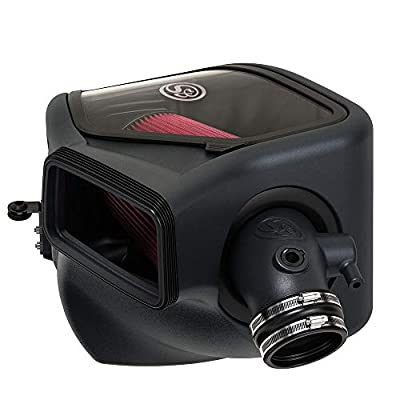 S&B Filters 75-5133 Cold Air Intake For 2020-2020 Ram 2500/3500 6.4L Hemi Gas (Oiled Cleanable, 8-ply Cotton Filter): Automotive